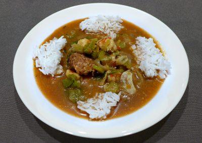 Ground Zero Gourmet Gumbo with Organic Basmati Rice from India